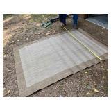 """Waterproof outdoor rug 64"""" x 8"""