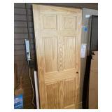 """2 - 6-panel pine doors 32"""""""