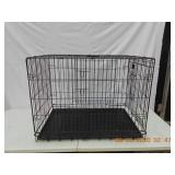 Pet Lodge folding kennel with 2 doors