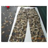 Duck Bay camp pants (38x31) & others