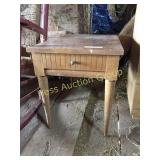 Tapered Leg End Table