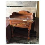 Softwood End Table