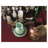 Large Collection of Avon & Dog Planter