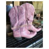 Pink Western Cowboy Boots