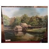 Oil on Canvas Mill Painting