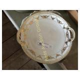 Two Decorative Porcelain Platters