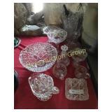 11 Pcs. of Pressed & Pattern Glass