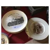 12 Hershey Collector Plates
