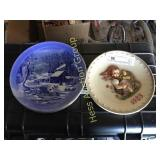 4 Collector Plates including 1985 Hummel.