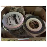 25 Collector Plates- Mostly Hershey