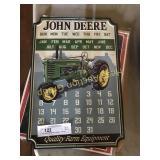 John Deere Magnetic Calendar, Patriotic Nurse