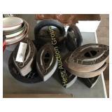8 Cast Irons & 4 Enamel Pots