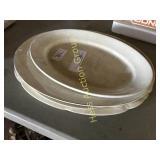 4 Ironstone Platters