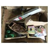 3 Boxes of Toys, Easter Items & 1972 News Papers