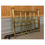 Brass-Plated Double Bed