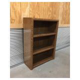 Particle Board 3-Shelf Bookshelf