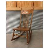 Spindle-Back Rocking Chair