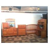 5pc Softwood Bedroom Suite