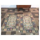 Floral Woven Rugs
