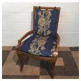 Contemporary Rattan Arm Chair