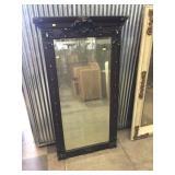 Oak Beveled Edge Mirror