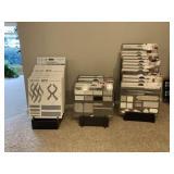 (3) Display Racks oof Ceramic & Tile Boards