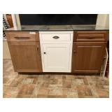 (3) Various Base Cabinets