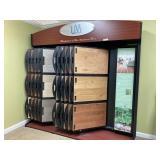Large LM Hardwood Flooring Display