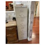 Cole 4-Drawer File Cabinet