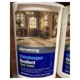 (4) Armstrong Shine keeper Resilient Floor Finish