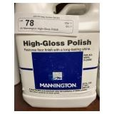 (4) Mannington High-Gloss Polish
