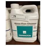 (4) Mannington Rinse-Free Floor Cleaner