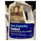 (4)Armstrong New Beginning Resilient Floor Strippe