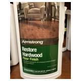 (5) Armstrong Restore Hardwood Floor Finish