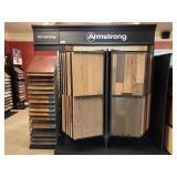 Large Armstrong Hardwood Flooring Display