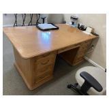 Solid White Oak Desk