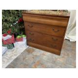 Wooden 2 Drawer Lateral File Cabinet