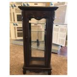 New Lighted Curio Cabinet with Glass Doors