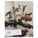 Vintage & Composition Animal Figurines