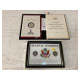 (2) Susan B. Anthony Dollars & Bicentennial