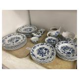 Blue Danube Porcelain Transferware China