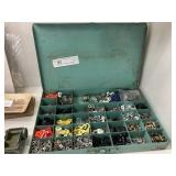 Divided Box w/Misc. Miniature Hardware