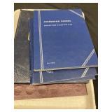 (4) Jefferson Nickel Books