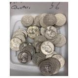 $10 in 90% Quarters