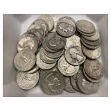 $10 in 90% Silver Quarters