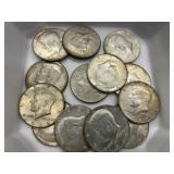 $6.50 in 40% Silver Halves