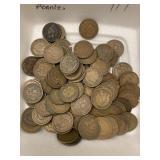 101 Indian Head Pennies