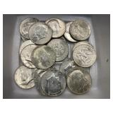 $10 in 1964 Kennedy Halves