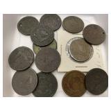 (13) Large Cents