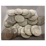 $10 in 90% Franklin Halves